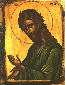icon of john